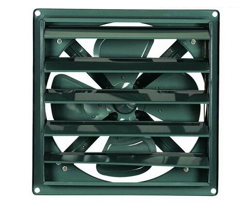 Industry Ventilating Fan With Shutter